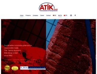 atikdoener-gmbh.de screenshot