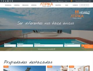 atipika.com screenshot