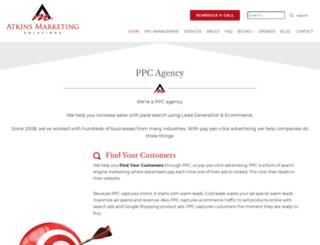 atkinsmarketingsolutions.com screenshot
