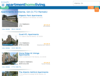 atlanta.apartmenthomeliving.com screenshot