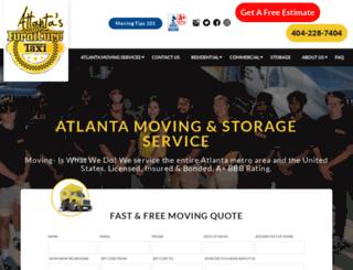 atlantafurnituremovers.com screenshot