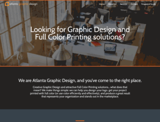 atlantagraphicdesign.net screenshot