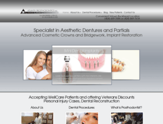 atlantaprosthodontics.com screenshot