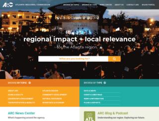 atlantaregional.com screenshot