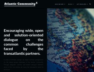 atlantic-community.org screenshot