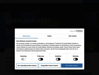atlantic-hotels.de screenshot