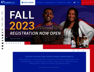 atlantic.edu screenshot