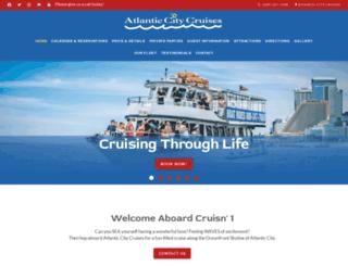 atlanticcitycruises.com screenshot