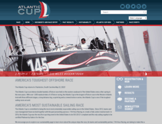 atlanticcup.org screenshot