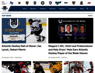 atlantichockeyonline.com screenshot