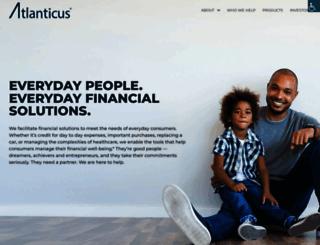 atlanticus.com screenshot