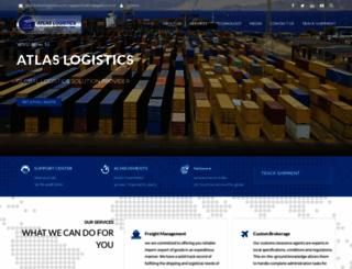 atlaslogistics.co.in screenshot