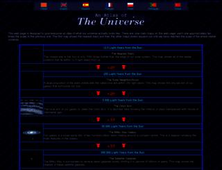 atlasoftheuniverse.com screenshot