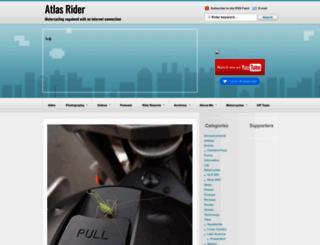 atlasrider.com screenshot