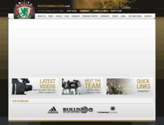 atleticoandaluciacf.com screenshot