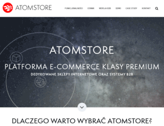 atomstore.pl screenshot