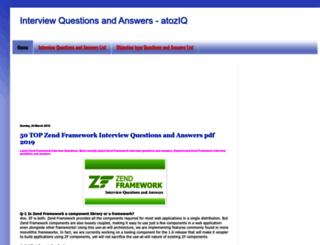 atoziq.blogspot.in screenshot
