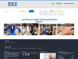 atoztrade.com.au screenshot