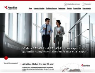 atradius.fr screenshot