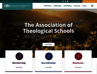 ats.edu screenshot