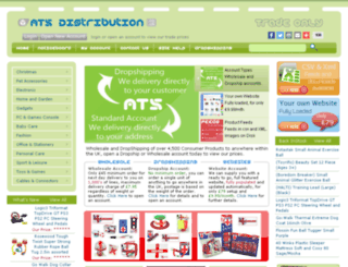 atsdistribution.co.uk screenshot