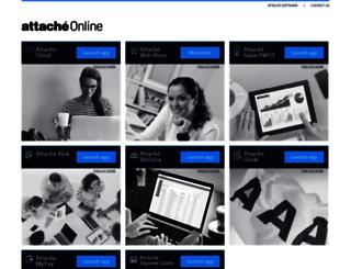 attacheonline.com screenshot