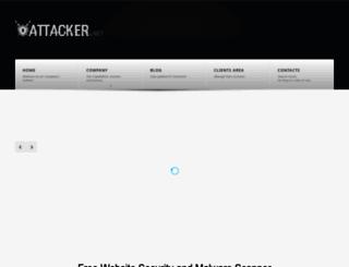attacker.net screenshot