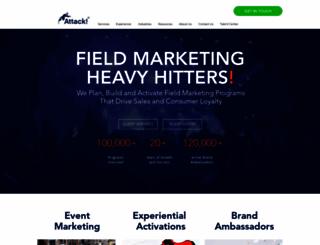 attackmarketing.com screenshot