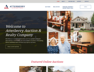 atterberryauction.com screenshot