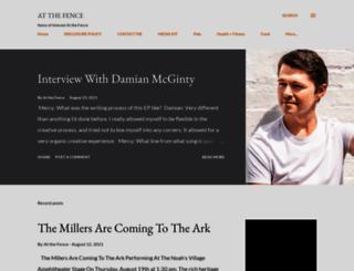 atthefence.blogspot.com screenshot