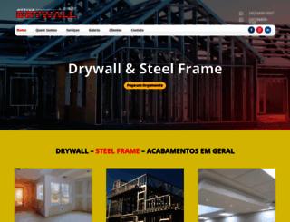 attivadrywall.com.br screenshot