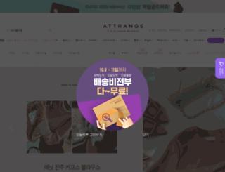 attrangs.com screenshot