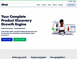 attraqt.com screenshot