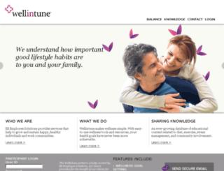 attunelife.com screenshot