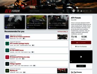 atv-forum.com screenshot