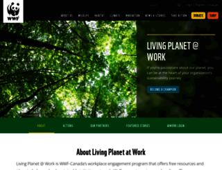 atwork.wwf.ca screenshot