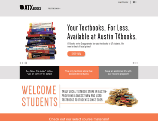 atxbooks.textbookstop.com screenshot