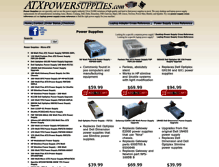 atxpowersupplies.com screenshot
