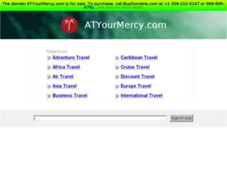 atyourmercy.com screenshot