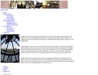 atyourserviceparis.com screenshot