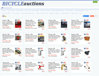 au.bicycleauctions.org screenshot