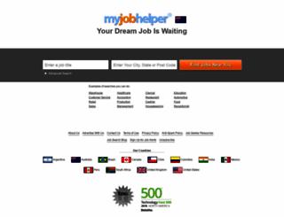 au.myjobhelper.com screenshot