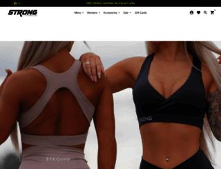 au.strongliftwear.com screenshot