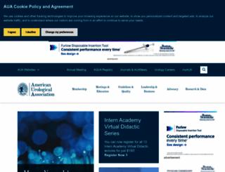auanet.org screenshot