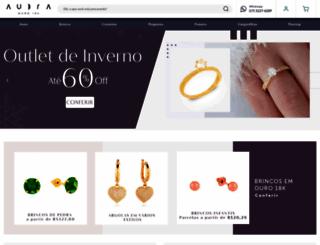 aubrajoias.com.br screenshot