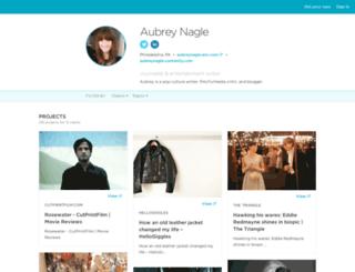 aubreynagle.contently.com screenshot