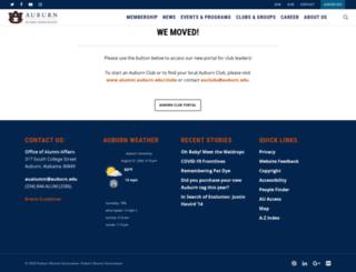 auburnclubs.org screenshot