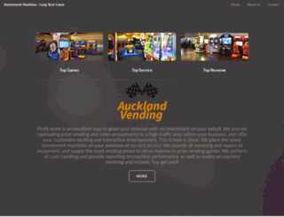 aucklandvending.co.nz screenshot