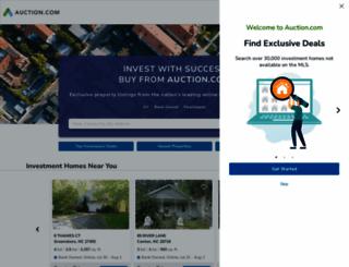 auction.com screenshot