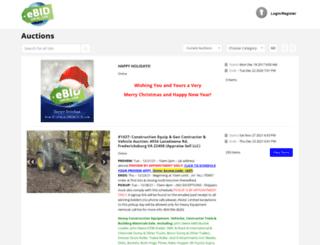 auction.ebidlocal.com screenshot